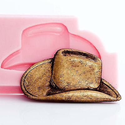 Глинистые формы Cowboy Hat Silicone Mold