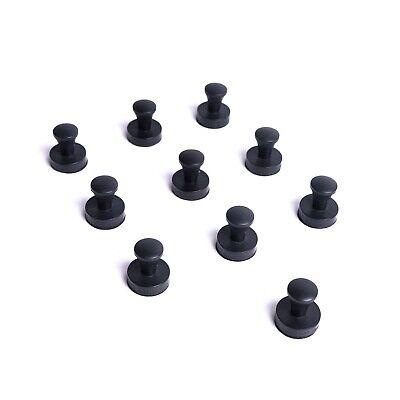 Patboard Push Pin Magnets - Set Of 10 Neodymium Magnetic Strong Push Pins