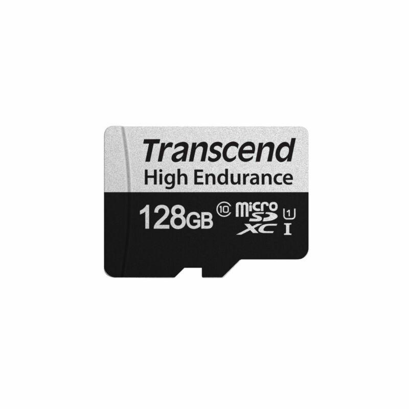 TRANSCEND 350V HIGH ENDURANCE U1 95MB/s Read 45MB/s Write 12