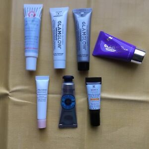 Lot of great trial size skincare samples from Sephora
