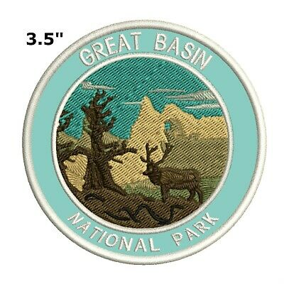 d541e0480340f Great Basin National Park Embroidered Patch Iron-On Souvenir Travel Explore