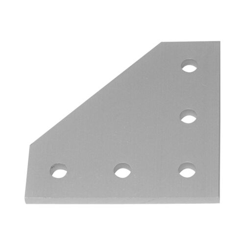 90 Degree Joining Plate (7 pack), Bracket for 2020 T-Slot Extrusion Assembly