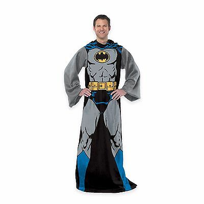 New Batman Comic Book Superhero Fleece Snuggies with Sleeves in box - Comic Book Superhero