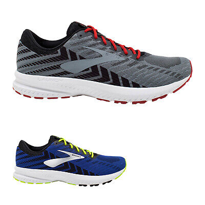 Brooks Launch 6 Mesh Breathable Running Lace-Up Mens Trainers