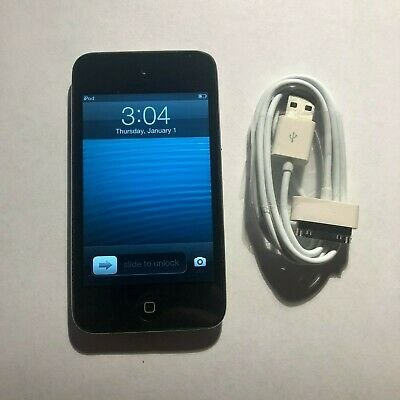 Apple iPod touch 4th Generation Black (32 GB) Bundle Great Condition Black 4th Generation Ipod