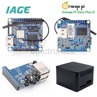 Orange Pi Zero Plus2 H3/H5 Quad-core WiFi + Bluetooth 512MB DDR3 Ausführung Plus, Core 2 Quad