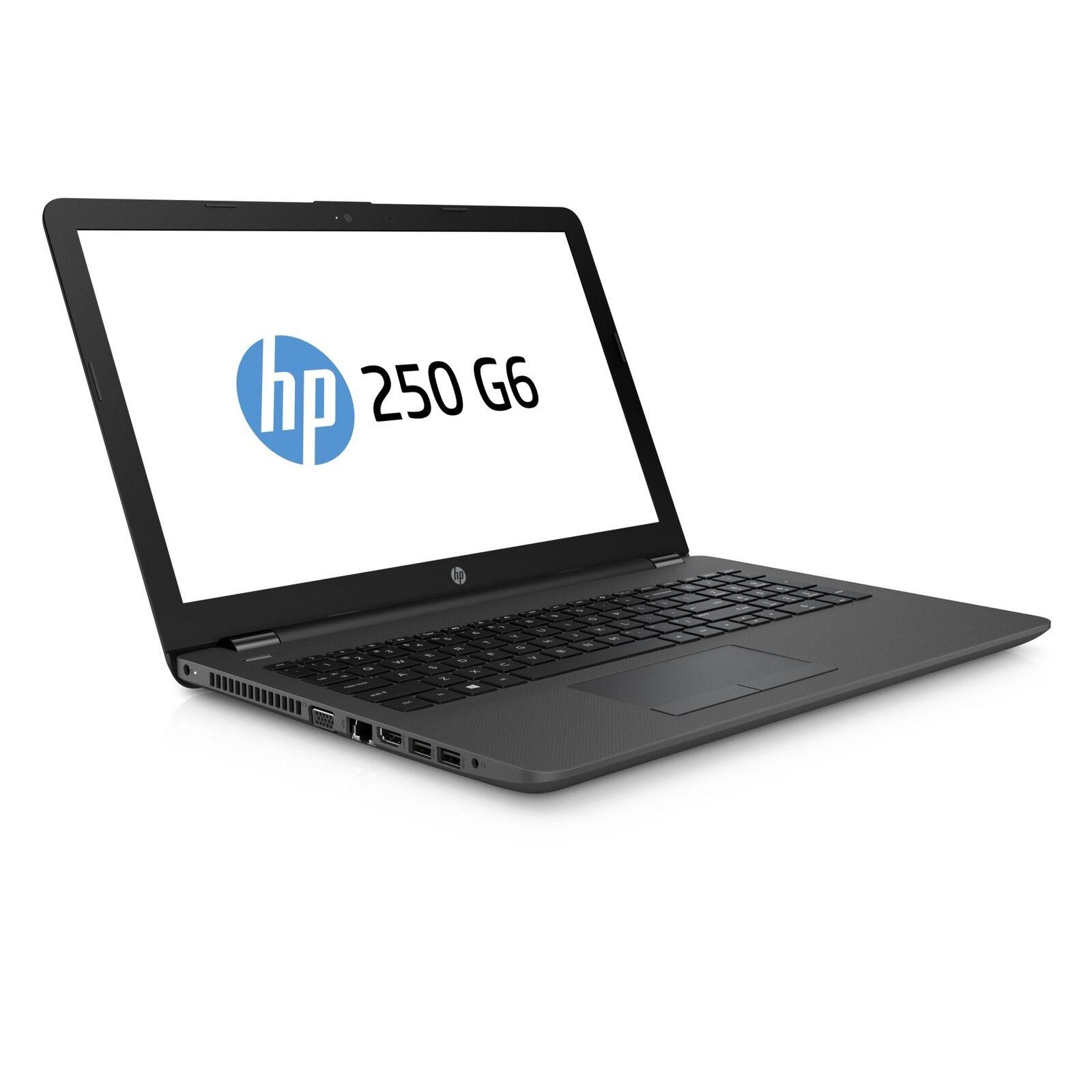 """HP 250 (15,6"""" HD) Notebook Intel N4000 2,6 GHz 8GB RAM 250GB SSD Linux Ubuntu"""