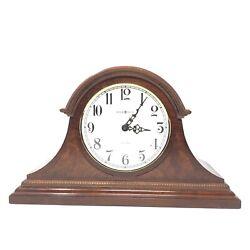 Howard Miller Frampton Quartz Mantel Clock 630-122 Dual Chime Walnut USA