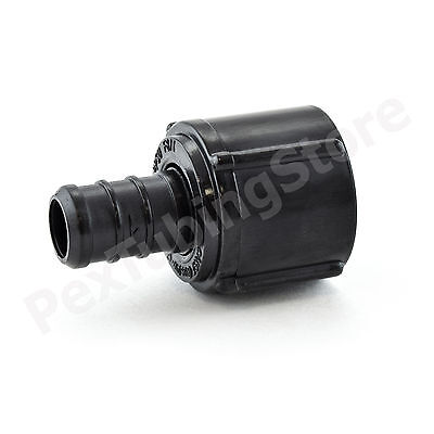 25 12 Pex X 12 Swivel Fnpt Adapters - Poly Alloy Lead-free Crimp Fittings