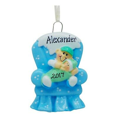 PERSONALIZED Big Brother In Chair Christmas Tree Ornament 2019 Holiday Gift Brother Personalized Christmas Ornament