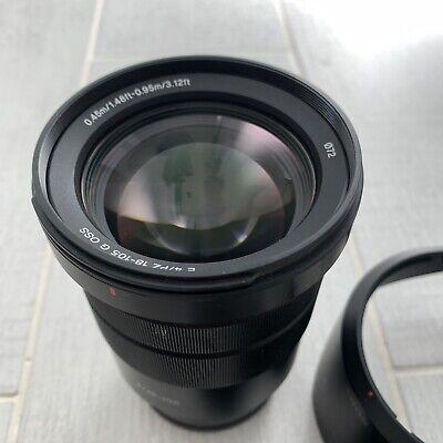 Sony 18-105mm F4 E PZ 18-105mm F4 G OSS