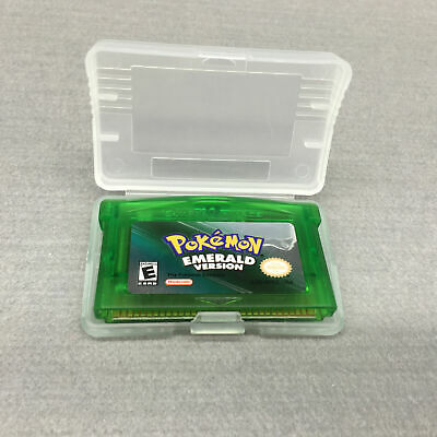 Pokemon Emerald Version Cartridge Card for Game Boy Advance GBA SP NDS NDSL