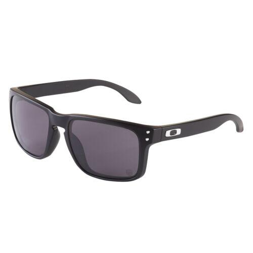 Oakley HOLBROOK XL Sunglasses OO9417-0159 Matte Black Frame W/ Gray Lens