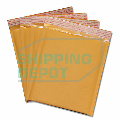 1-2000 Dvd 7.5x10 Kraft Bubble Mailers Self Seal Envelopes 7.5x10 Secure Seal