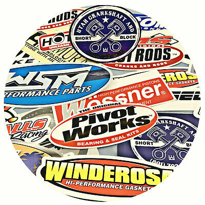 Performance Parts Misc 10 Sticker GRAB BAG Polaris Ski-doo Sea-Doo WSM Hot