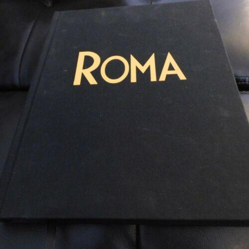 ROMA FYC HAND SIGNED HARDBOUND SCRIPT SCREENPLAY ALFONSO CUARON RARE