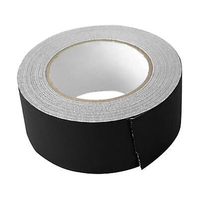 Rockville Rock Gaff Black Gaffers Tape 2 X 100 Ft For Pro Audiostage Wire