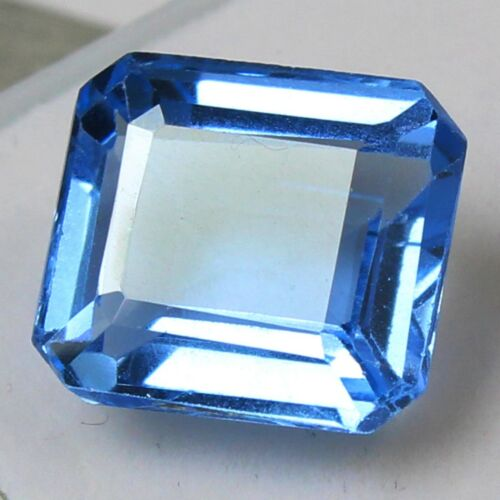 Certified 10.30 Ct+ Natural Brazil Blue Aquamarine UNHEATED Loose Gemstones