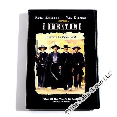 Tombstone DVD New Kurt Russell Val Kilmer Sam Elliott Michael Biehn Powers Booth