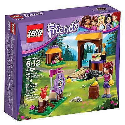 41120 Adventure Camp Archery Lego Friends Set New Legos Freinds Mia Hedgehog