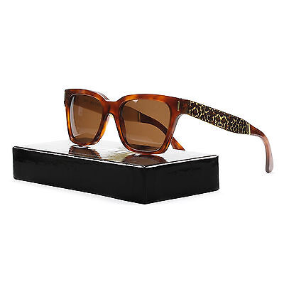 RETROSUPERFUTURE Super America Sunglasses SU926 Francis Leopard Brown (Super Sunglasses America)