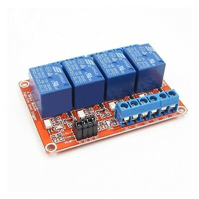 Usa 24 Vdc 10 Amp 4-channel High Low Level Input Relay Boards