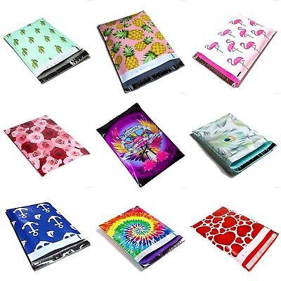 Custom Plastic Bags - #SmileMail Designer Poly Mailers Plastic Envelopes Shipping Bags Custom Printed