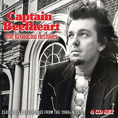 CAPTAIN BEEFHEART New Sealed 2020 LIVE 1960s & 70s CONCERTS 4 CD BOXSET