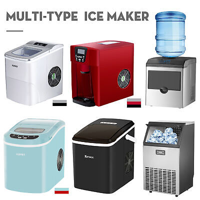 Commercial Ice Maker Built-in Ice Making Machine Up To 26lbs33lbs100lbs