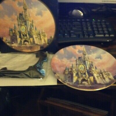 Vintage Walt Disney World - The Happiest Celebration on Earth~Castle 3-D Plate