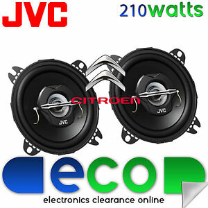 Citroen C1 2005-2014 JVC 10cm 4 Inch 210 Watts 2 Way Front Dash Car Speakers