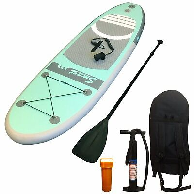 10' 8'' - 330cm INFLATABLE SUP STAND UP PADDLE BOARD in bag with all accessories