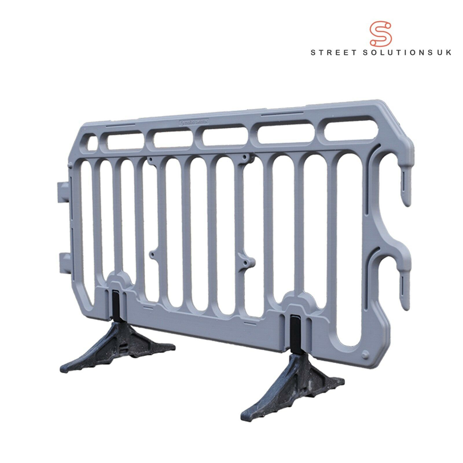 Details about Crowd Control Barrier Plastic 2m Pedestrian Traffic  Management & Event NEW 2019
