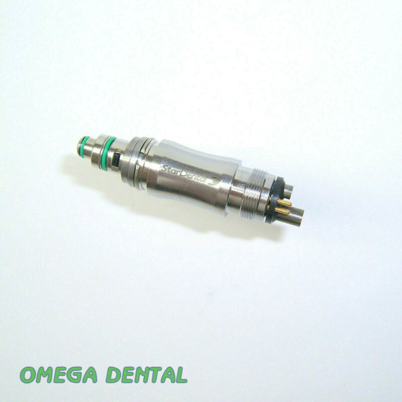 Star Dental 6 Pin Handpiece Coupler, New Bulb + O-rings, ref 263773