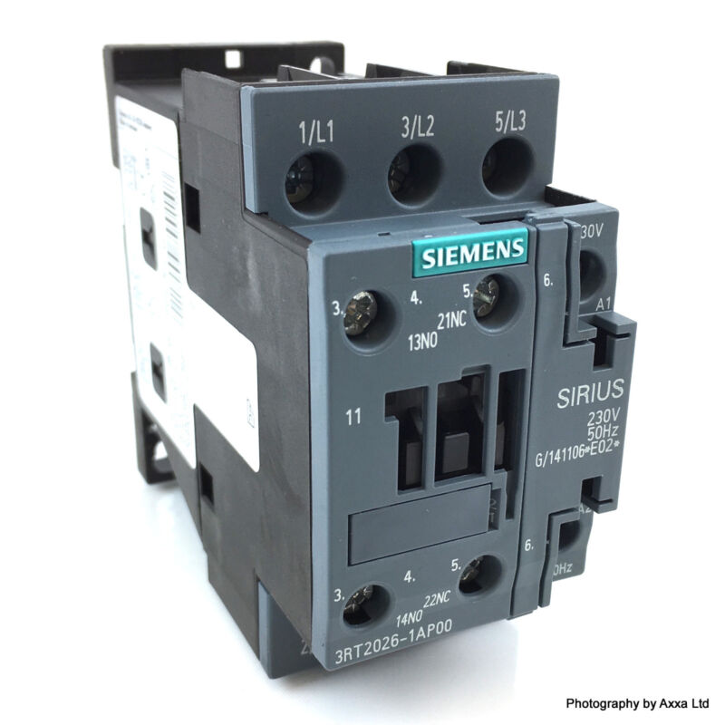Contactor 3RT1024-1AP00 230VAC 5.5kW Siemens 3RT10241AP00 *New*