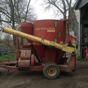 New Holland Grinder Mixer