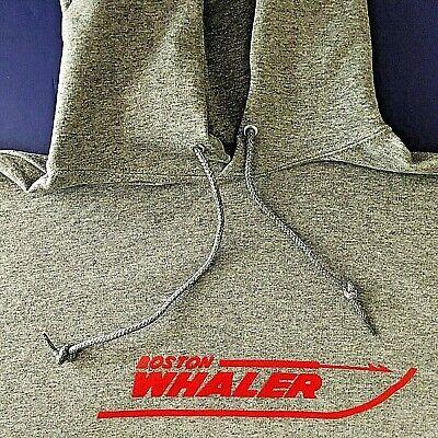 Boston Whaler Boats Screen Printed Oxford Hooded Sweatshirt 9.5 oz. Heavy -