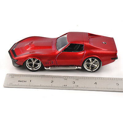 1/32 Scale JADA Red 1969 Corvette StingRay ZL-1 Vehicle Car Model Toy Collection