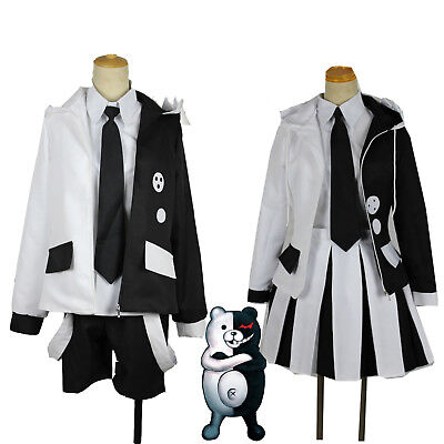 Danganronpa 2 The End Of Hope College The Cold Blooded Monokuma Cosplay - College Costumes