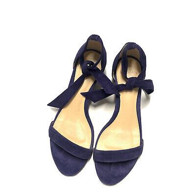 Alexandre Birman Atena Bali Ankle Strap Sandal 38 Indigo Blue Purple