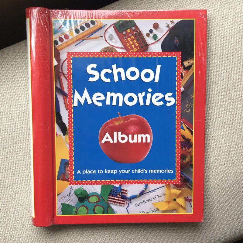 School Memories Album Keepsake Scrapbook Photos from Preschool - 12 Grade