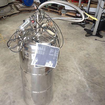 Wessington Cryogenics Es25 Liquid Nitrogen Tank With Nozzle