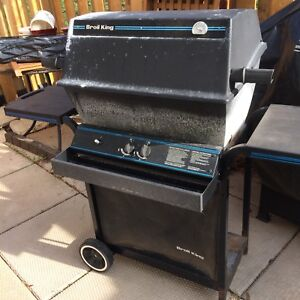 BBQ; uses propane (no tank included)