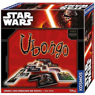 KOSMOS 692490 Star Wars Ubongo - Das Erwachen der Macht Brettspiel Legespiel (Stars Wars Spiel)