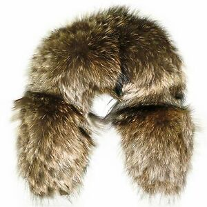 Glacier Wear Finn Raccoon Fur Ruff 24 Inches