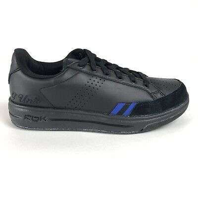 Reebok RBK Youth 5.5 G Unit G6 Low Casual Shoes 10-107149 Black Blue Deadstock