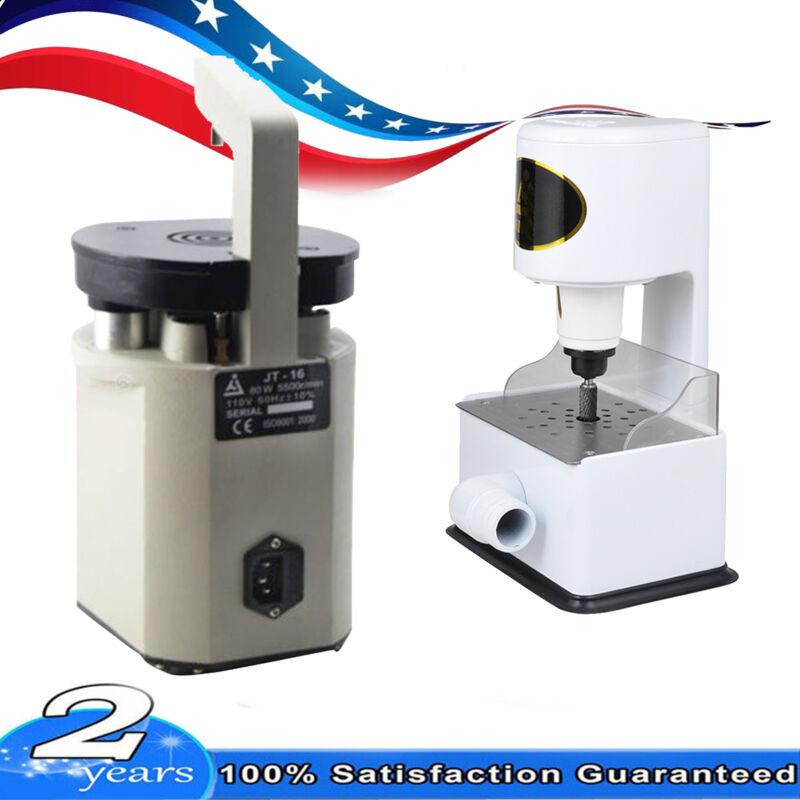 USA Dental Lab Laser Pindex Drill Pin System + Grind Inner Arch Trimmer Machine