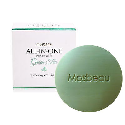 Authentic Mosbeau Spotless Green Tea Facial Lightening Soap - BEST PRICE (Best Soap Japans)