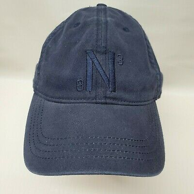 Nautica 83 Embroidered Logo Hat Cap Strapback New