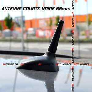 antenne courte 55mm noire tuning peugeot 106 206 207 208 307 308 406 407 508 cc ebay. Black Bedroom Furniture Sets. Home Design Ideas